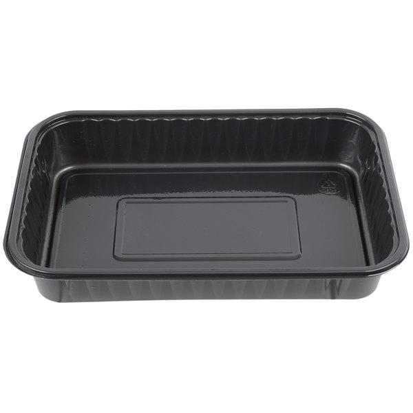 Genpak 55357 Bake 'N Show Dual Ovenable Brownie / Cake Pan - 250/Case