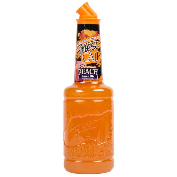 Finest Call Premium Peach Puree Drink Mixer 1 Liter