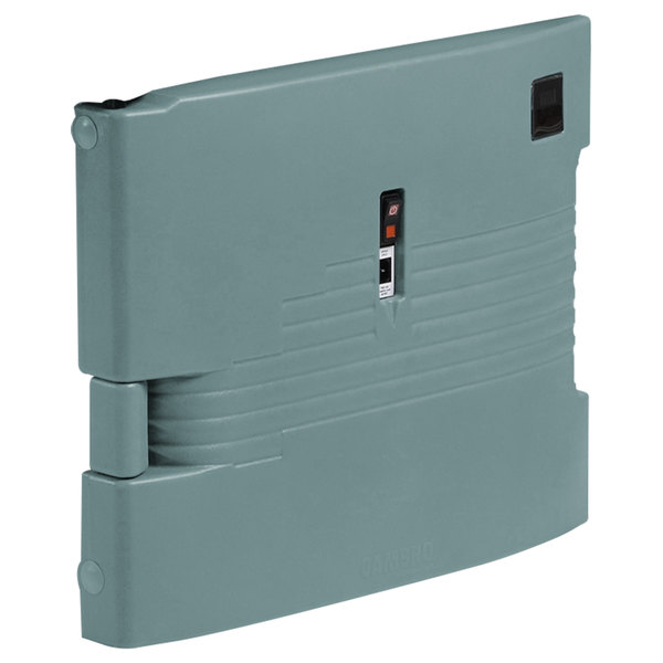 Cambro UPCHBD1600401 Slate Blue Heated Retrofit Bottom Door for Cambro Camcarrier - 110V Main Image 1