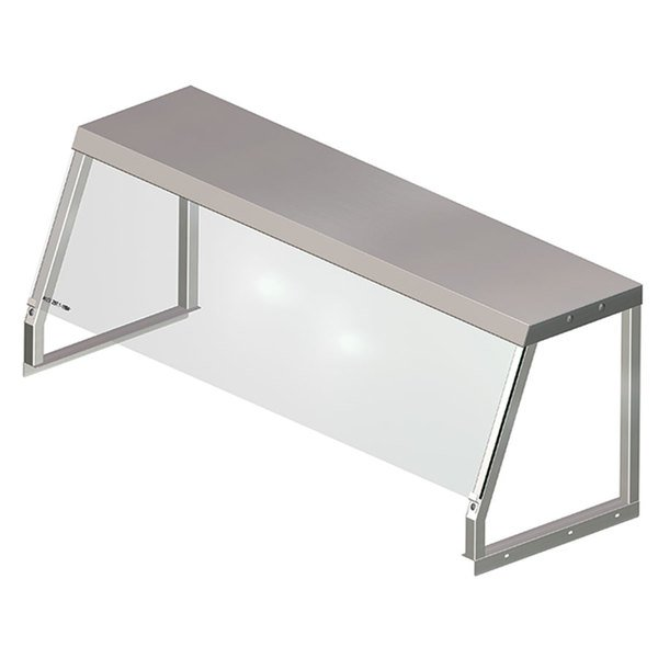 APW Wyott 32010505 Serving Shelf with Acrylic Shield for 2 Well Sealed Element Steam Table