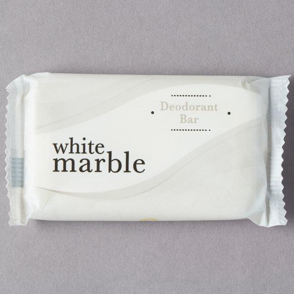 Dial DW06011-A White Marble Basics Hypoallergenic Deodorant Soap 0.81 oz. - 500/Case