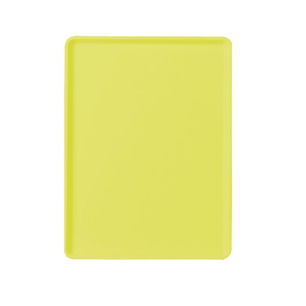 "Cambro 1220D537 12"" x 20"" Cameo Yellow Dietary Tray - 12/Case"