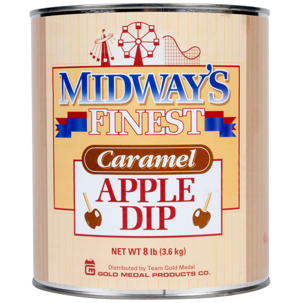 Gold Medal 4224 Caramel Apple Dip #10 Can  - 6/Case