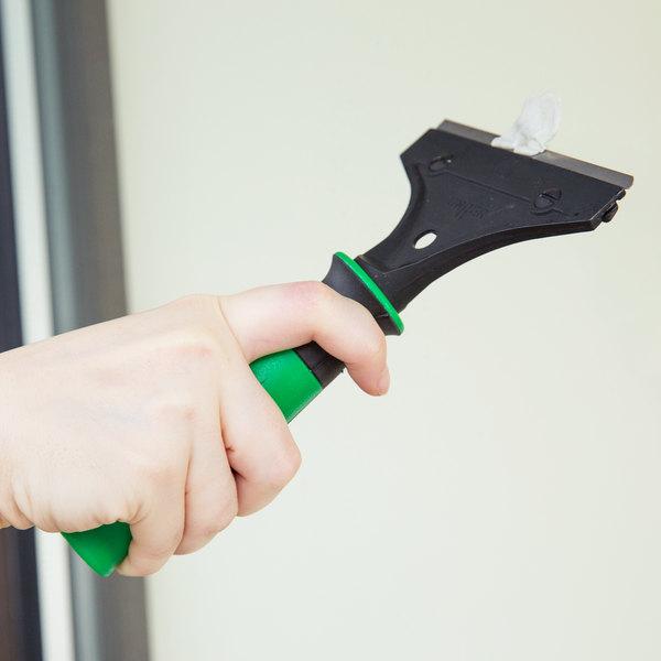 "Unger SH00C ErgoTec 4"" Scraper with Rubber Grip"
