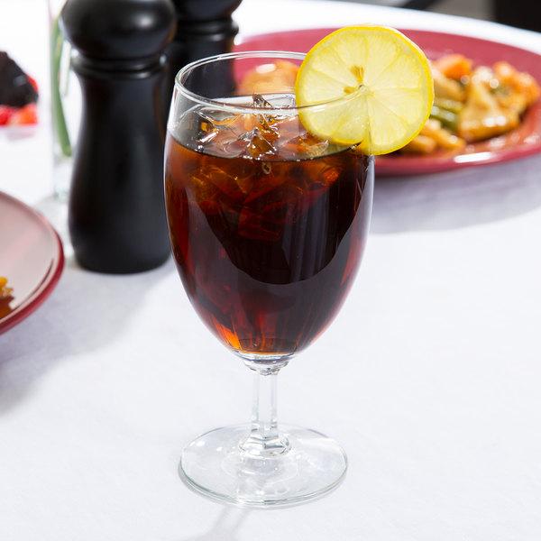 Libbey 8716 Napa Country 16 oz. Iced Tea Glass - 36/Case Main Image 6