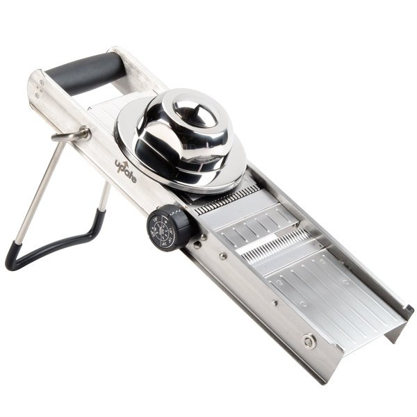 Stainless Steel Mandoline Slicer with 4 Built-In Blades Main Image 1