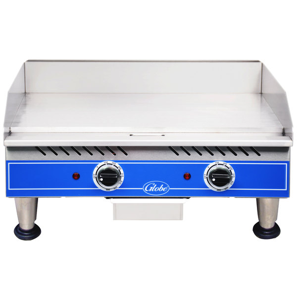 """Globe PG24E 24"""" Electric Countertop Griddle - 2700W Main Image 1"""