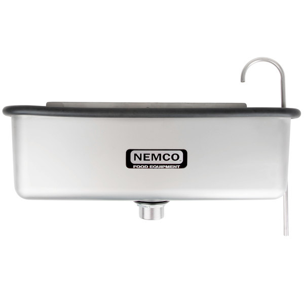 "Nemco 77316-19A 20 5/8"" Ice Cream Dipper Well and Faucet Set"