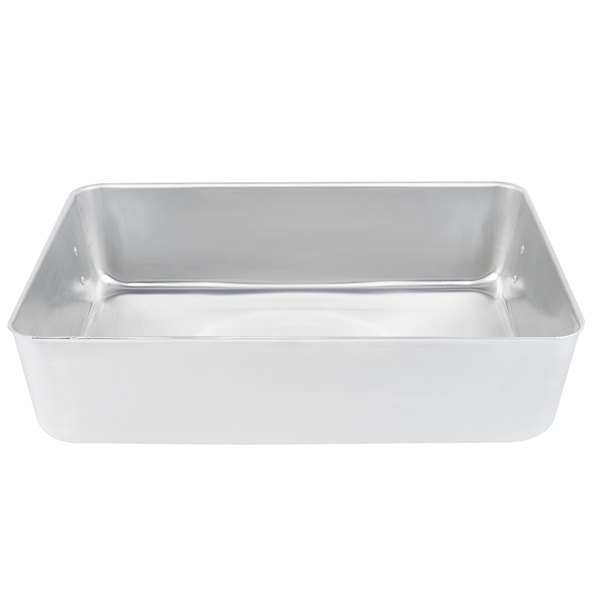 Vollrath 4482 Wear Ever 115 Qt Aluminum Roast Pan With Straps And