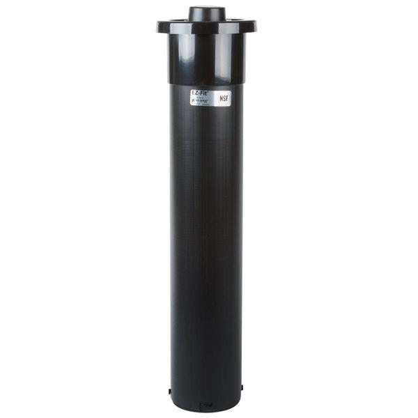 "San Jamar C2210C In-Counter Euro EZ-Fit 6 - 24 oz. Cup Dispenser - 23 1/4"" Long"