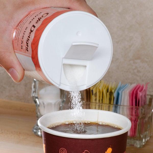 Cafe Delight 20 oz. Sugar Canister Main Image 4