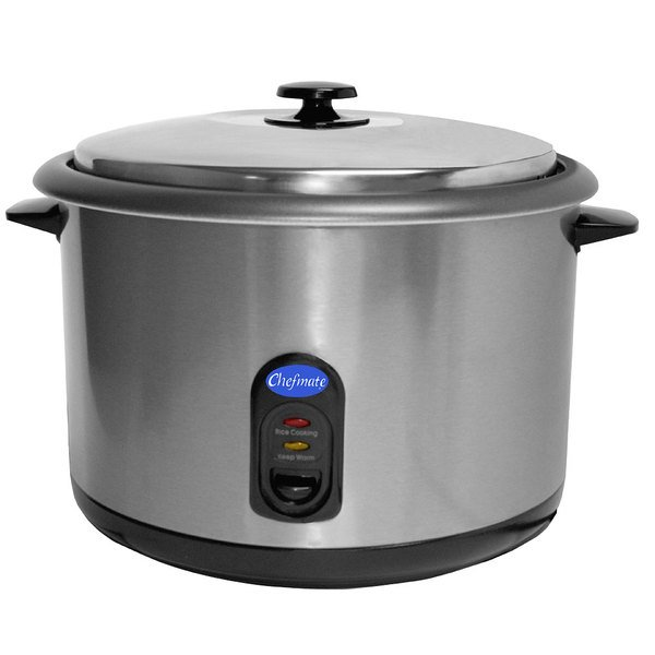Globe 25 Cup (12.5 Cup Raw) RC1 Rice Cooker / Warmer - 1440W
