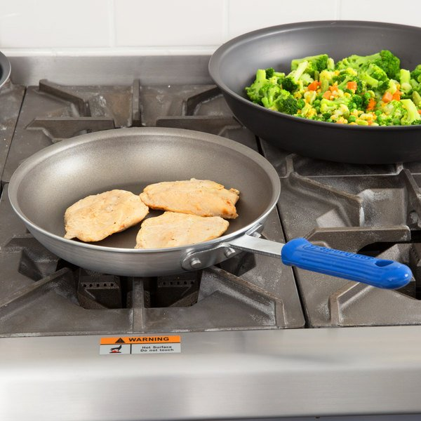 """Vollrath S4010 Wear-Ever 10"""" Non-Stick Fry Pan with PowerCoat2 and Cool Handle"""