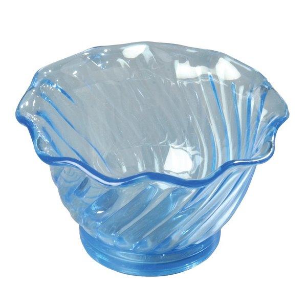 5 oz. Tulip Dessert Dishes - Blue 12 / Pack