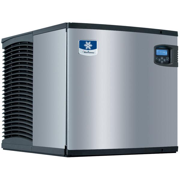 "Manitowoc IY-0525W Indigo Series 22"" Water Cooled Half Size Cube Ice Machine - 120V, 480 lb. Main Image 1"
