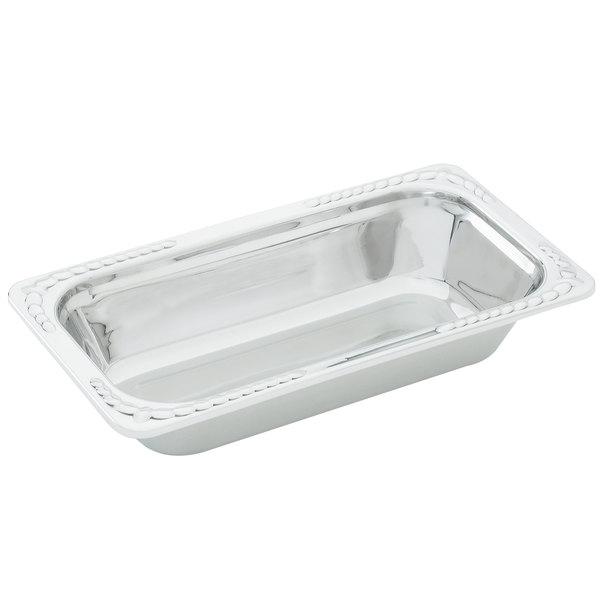 "Vollrath 8231120 Miramar® 1/3 Size Decorative Food Pan - 2 1/2"" Deep"
