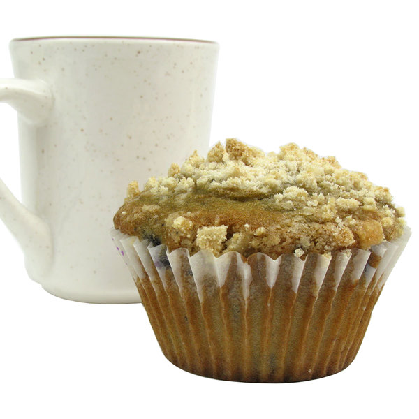 """White Fluted Baking Cup 3"""" x 1 1/4"""" - 500/Pack"""