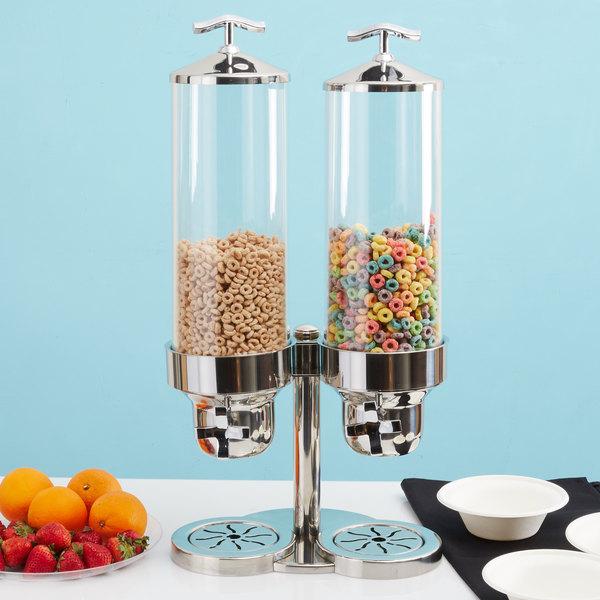 Vollrath 4635210 Somerville 7.6 Liter Double Cereal Dispenser