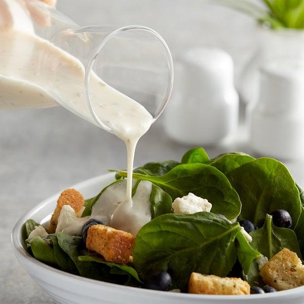 AAK Select Recipe 1 Gallon Creamy Italian Dressing - 4/Case Main Image 2