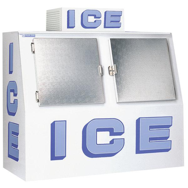 Polar Temp 600CW Cold Wall Outdoor Ice Merchandiser - 60 cu. ft.