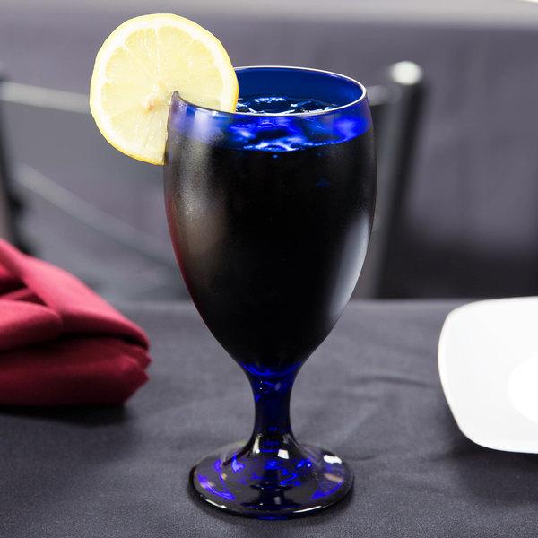 Libbey 4116SRB Cobalt 16.25 oz. Premiere Tall Iced Tea Glass - 12/Case