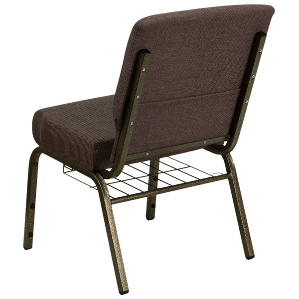 LOT OF 50 21/'/' WIDE NAVY BLUE FABRIC CHURCH CHAIR COMMUNION CUP BOOK RACK