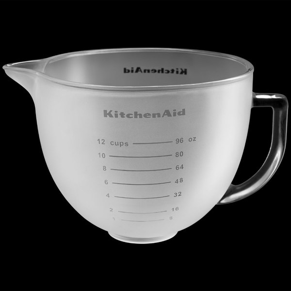 Kitchenaid K5gbf Frosted 5 Qt Mixing Bowl With Handle And