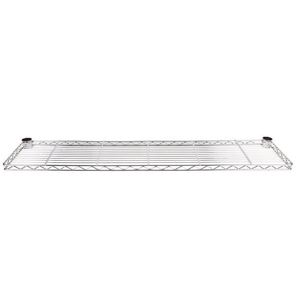 "Metro 1260CHC 60"" Chrome Plated Cantilever Overhead Shelf"