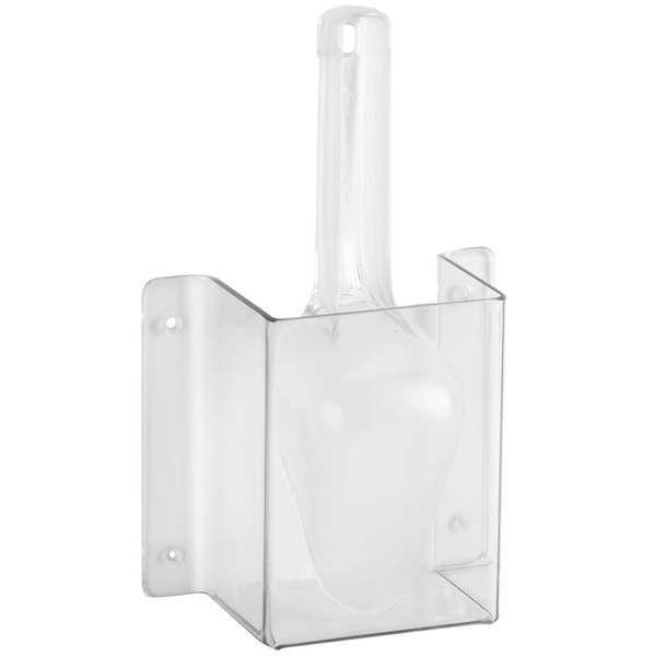 Cal-Mil 623 Wall Mount Scoop Guard with 6 oz. Scoop Main Image 1