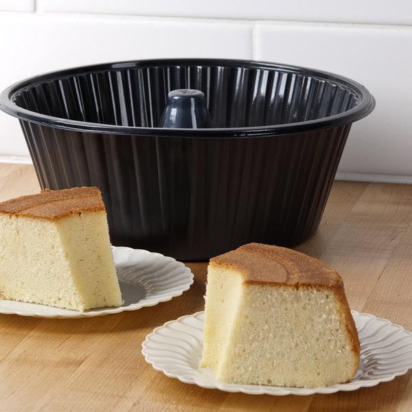 "Genpak 55A10 10"" Bake N' Show Angel Food Cake Pan - 200/Case"
