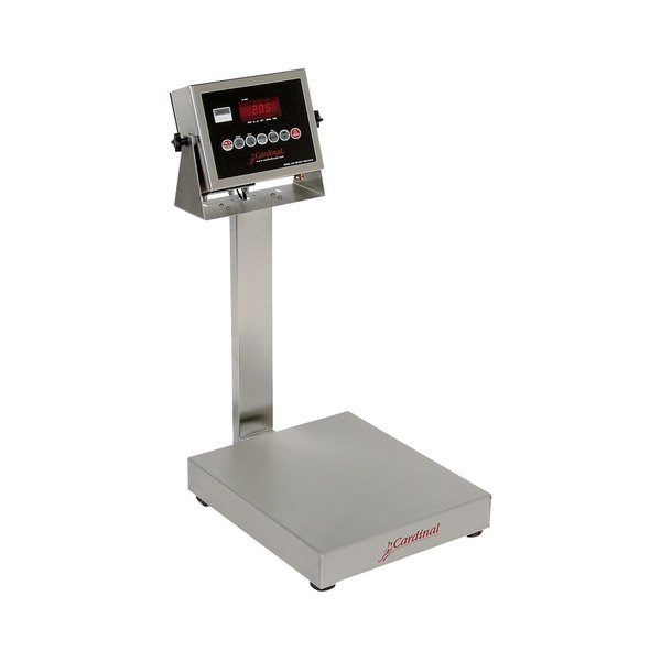 Cardinal Detecto EB-30-205 30 lb. Electronic Bench Scale with 205 Indicator and Tower Display, Legal for Trade Main Image 1