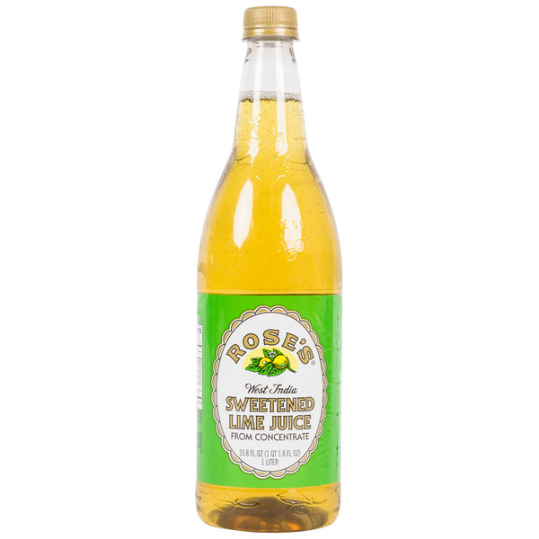 Rose's Lime Juice - (12) 1 Liter Bottles / Case
