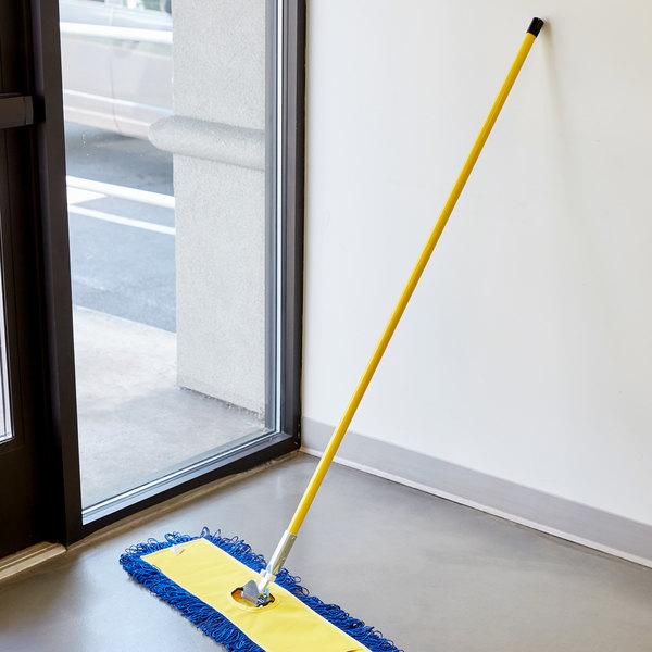 """Scrubble by ACS M9551 Dust Mop Handle 60"""" Swivel Snap"""