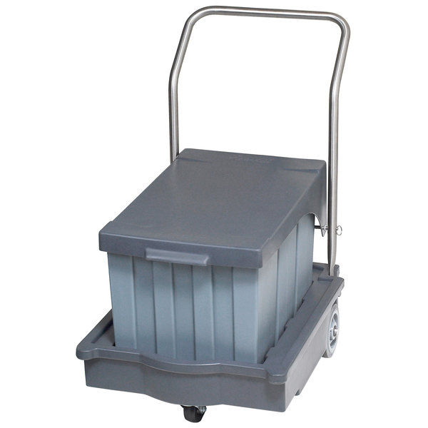 Follett 00112771 SmartCART 75 lb. Ice Cart