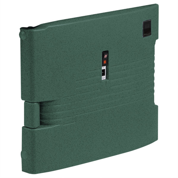 Cambro UPCHBD16002192 Granite Green Heated Retrofit Bottom Door for Cambro Camcarrier - 220V (International Use Only) Main Image 1