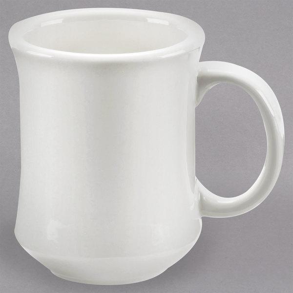 636836edb97 Choice 7 oz. American White Princess Bell Shaped China Coffee Mug (Ivory) -  36/Case