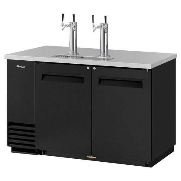 Turbo Air Tbd 2sb 2 Double Tap Kegerator Beer Dispenser