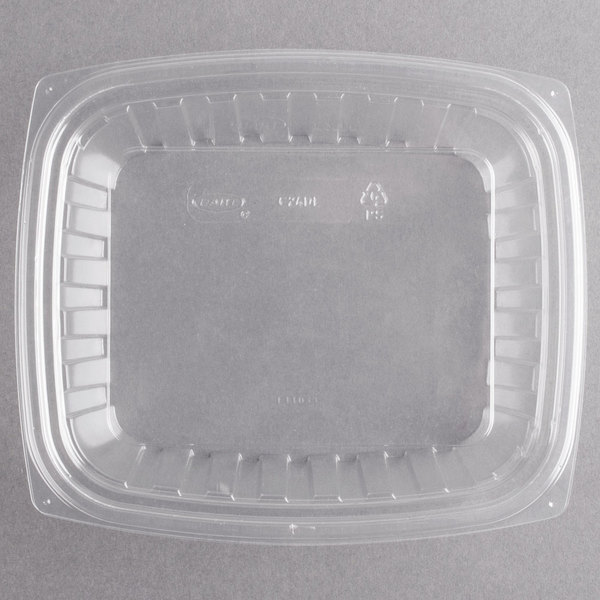 Dart C24DCPR ClearPac 24 oz Clear Rectangular Plastic Container