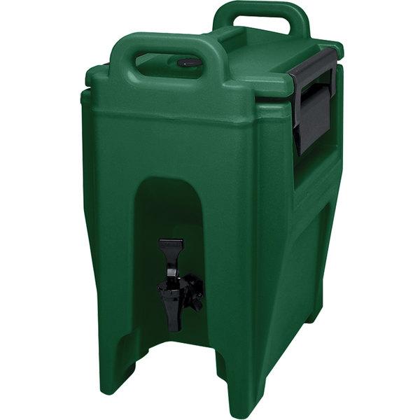 Cambro UC250519 Ultra Camtainers® 2.75 Gallon Kentucky Green Insulated Beverage Dispenser