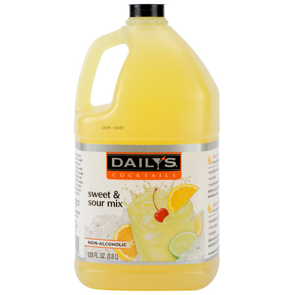 Daily's 1 Gallon Sweet and Sour Mix - 4/Case