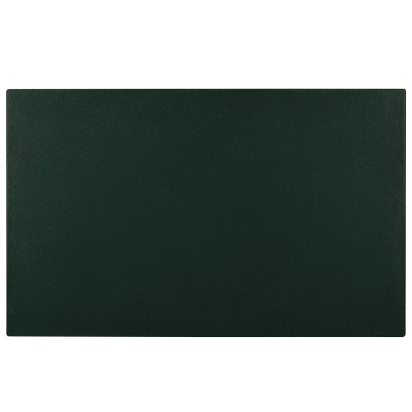 """Cambro WCR1220519 Green Full Size Well Cover For CamKiosk and Camcruiser Vending Carts 21""""L x 13""""W x 2""""H"""