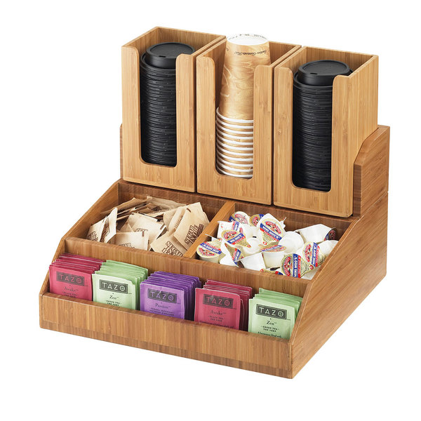 Cal Mil 2019 60 Bamboo Condiment Organizer 15 Quot X 14 Quot X 9