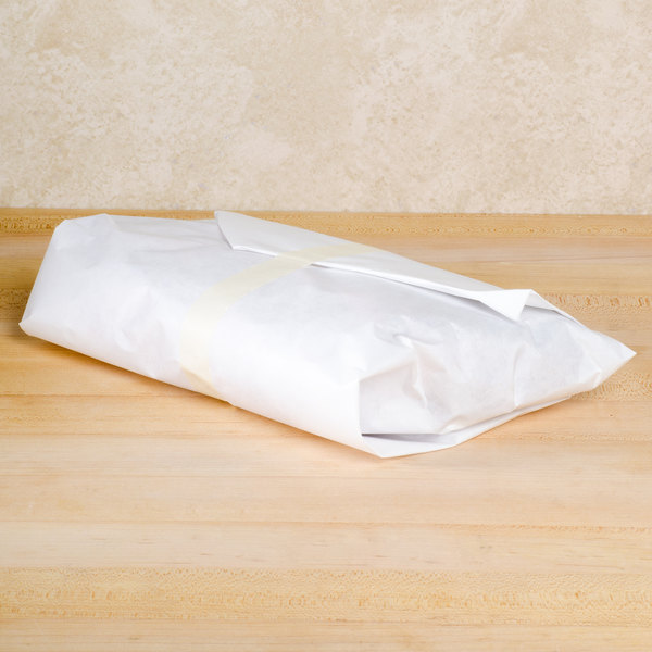 "15"" x 700' 40# White Butcher Paper Roll"