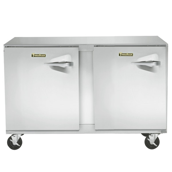 "Traulsen UHT48-LL 48"" Undercounter Refrigerator with Left Hinged Doors - 13.1 Cu. Ft."