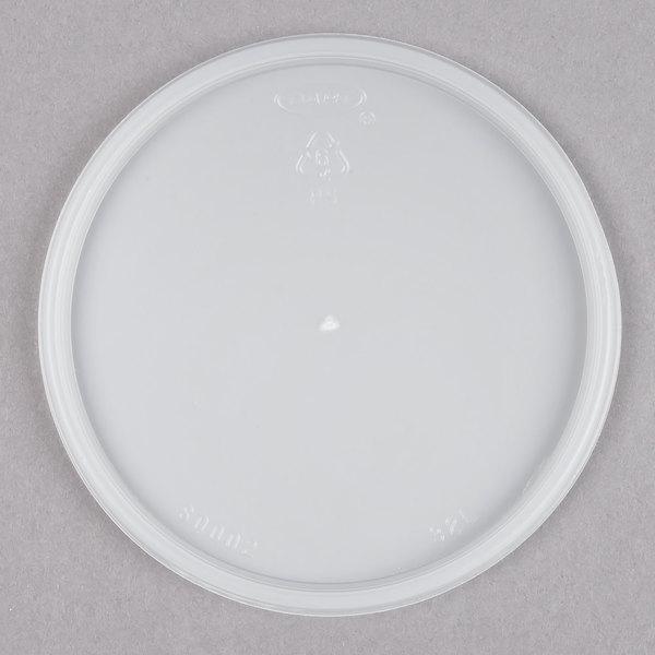 Dart 32JL Translucent Vented Lid - 100/Pack