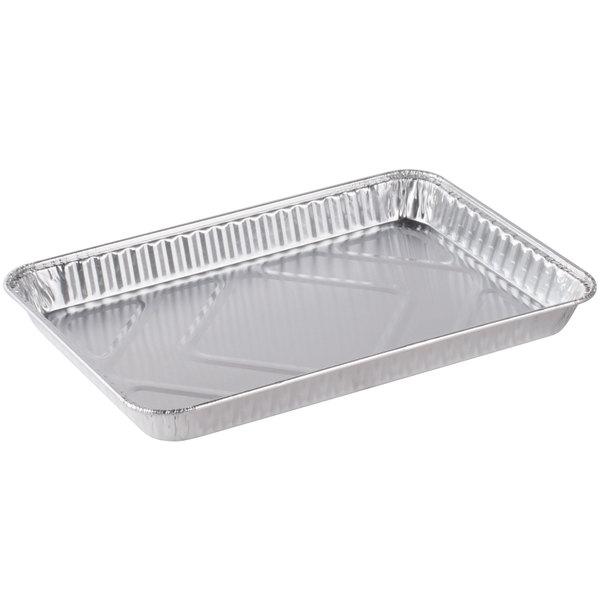 Durable Packaging 1/4 Sheet Foil Cake Pan - 100/Case