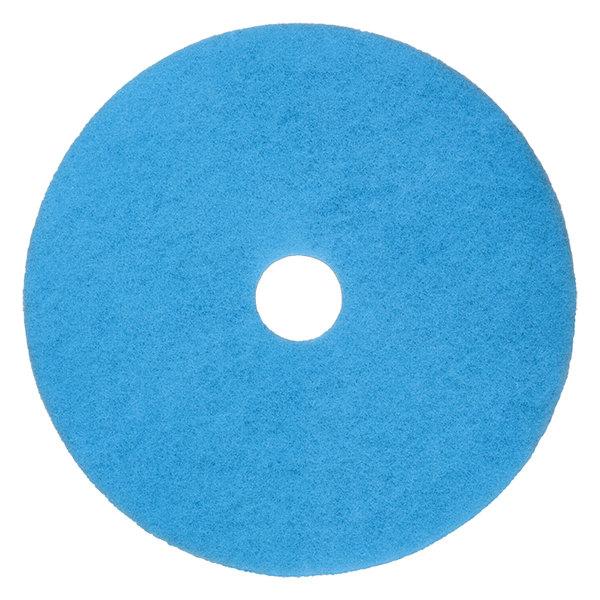 """Scrubble by ACS 52-20 Type 52 20"""" Blue Velvet Burnishing UHS Floor Pad"""