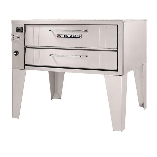 "Bakers Pride 251 Liquid Propane Pizza Deck Oven Single Deck 36"""