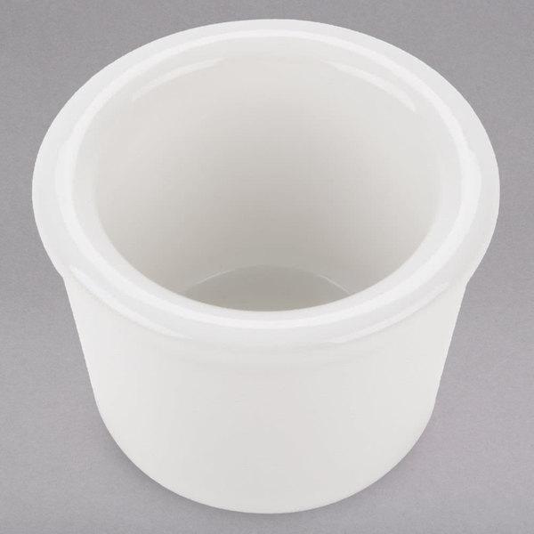 Tuxton BWX-015 1.5 oz. White Smooth China Ramekin - 48/Case Main Image 1