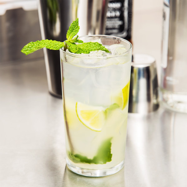 Libbey 53 Straight Sided 10 oz. Collins / Mojito Glass - 72/Case Main Image 5